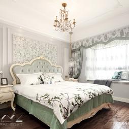 法式四居主卧室设计图
