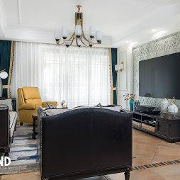 168㎡美式客厅设计