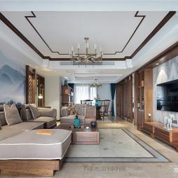 经典中式客厅吊灯设计
