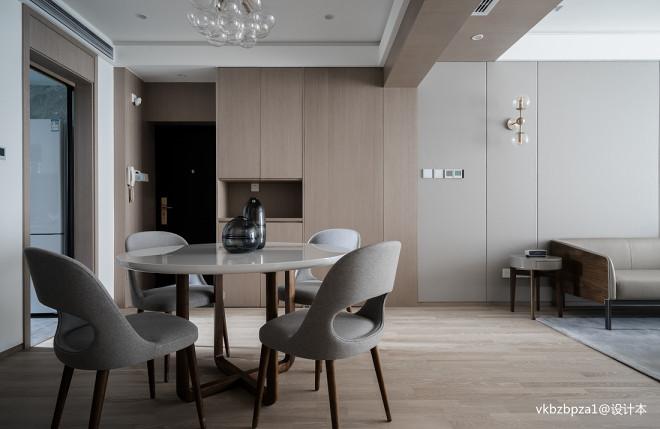现代简约餐厅设计实景图