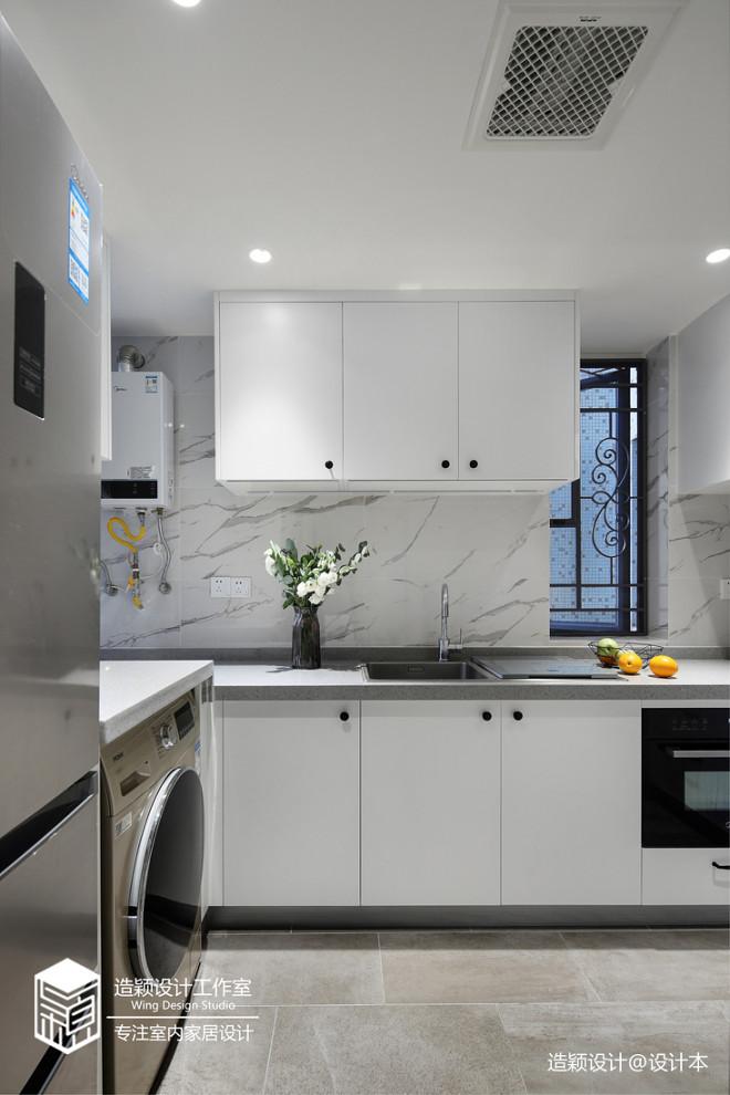 温馨北欧三居厨房设计