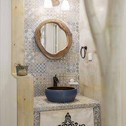 美式乡村洗手台设计