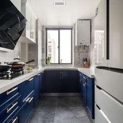 简美式厨房设计