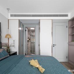 简美式卧室衣柜设计