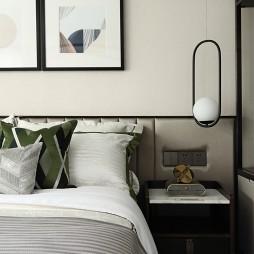 自然混搭风卧室设计