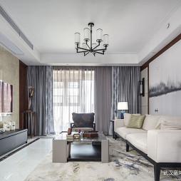中式客厅设计实景