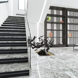 简约豪宅楼梯设计