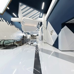 UA影院走廊设计
