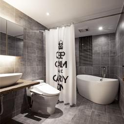 日式风卫浴设计
