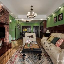 重彩美式客厅设计