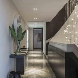 轻奢现代别墅过道设计