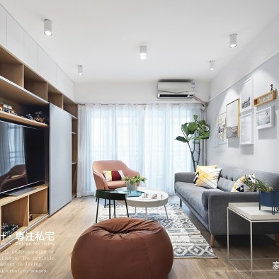 混搭三居客厅设计