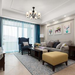 南山美式客厅设计