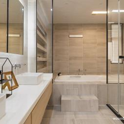 极简别墅卫浴设计