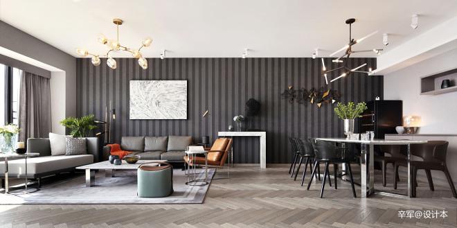 简约风豪宅客厅设计图
