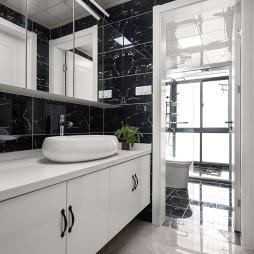 简白现代卫浴设计