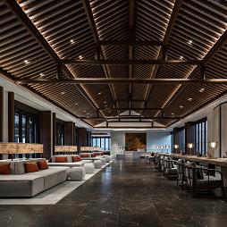 安吉悦榕庄度假酒店接待区设计