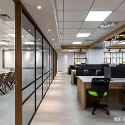 简单混搭办公空间设计