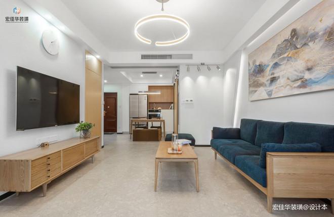 淡雅简约客厅设计图片