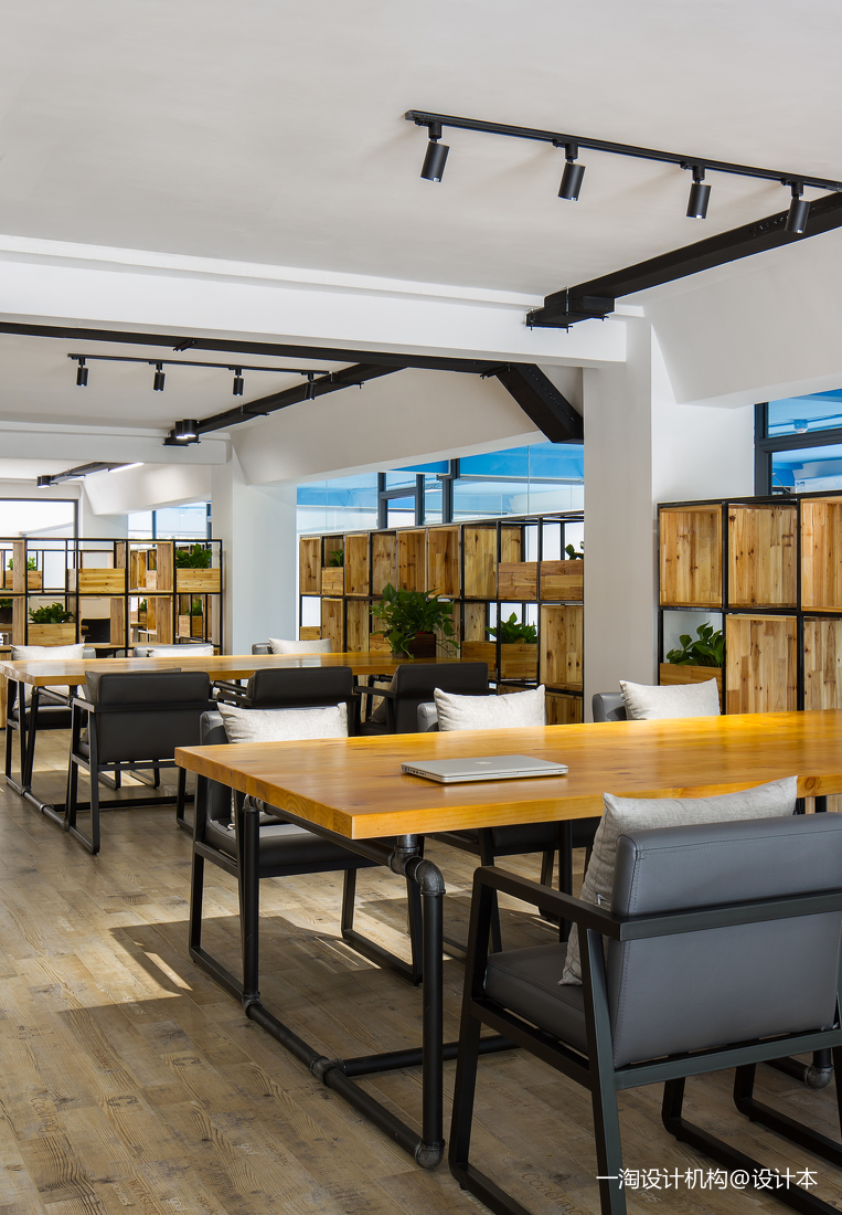 文化创意园众创空间办公区设计