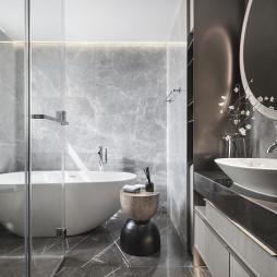 卓越天元样板房卫浴设计