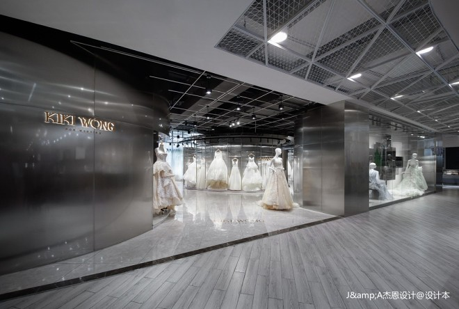 KIKI WONG婚纱店室内设计图