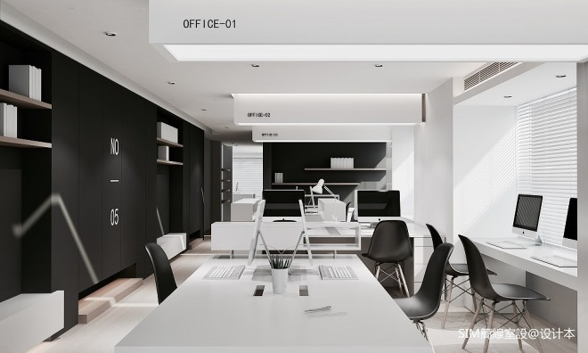 Office Plan—SIM簡線建