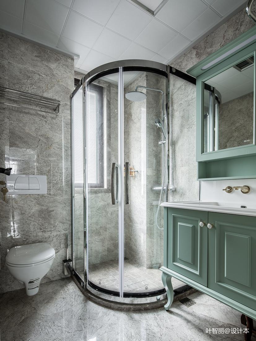 《陈院长雅居》美式卫浴设计
