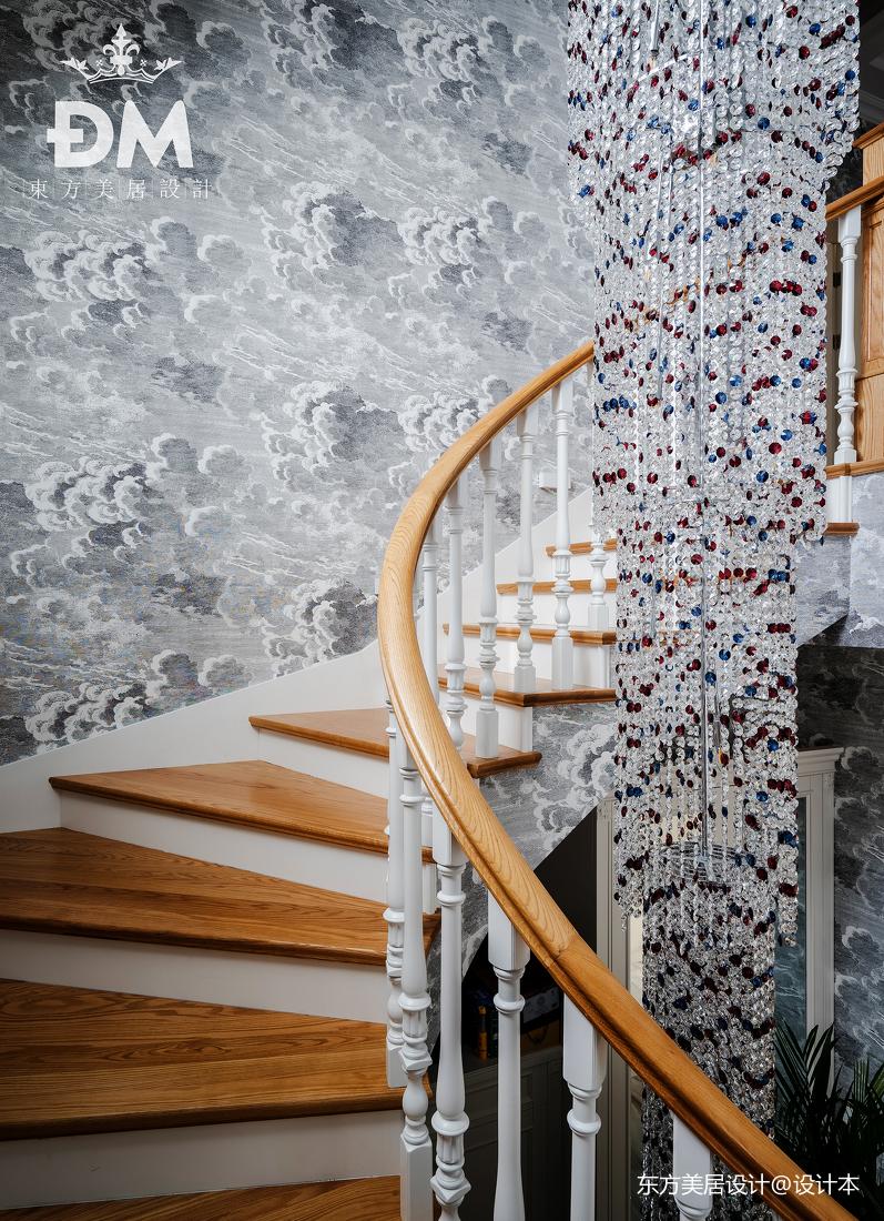 600平复式住宅楼梯设计