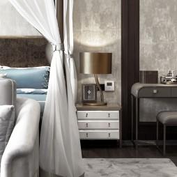 现代风雅卧室床头灯图片