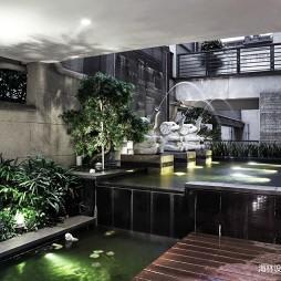 现代风雅花园设计图