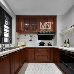 优雅美式厨房设计