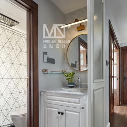 优雅美式卫浴洗手台设计