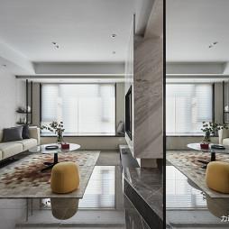 灰色系现代客厅实景