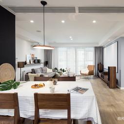 大平层现代餐厅设计