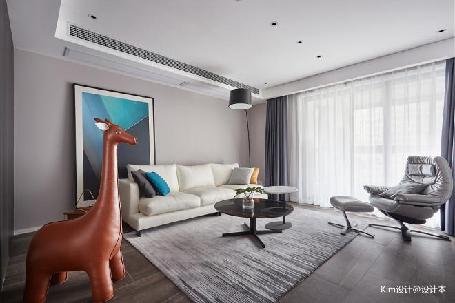 L宅现代客厅设计图