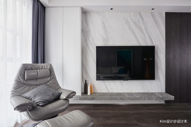 L宅现代背景墙设计图