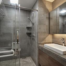 台式简约卫浴设计图