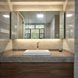 台式简约卫浴洗手台设计