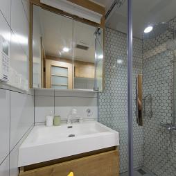 现代北欧风卫浴洗手台设计图