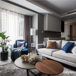 简洁北欧客厅沙发图