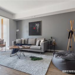 轻工业现代客厅设计
