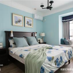 美式二居主卧室设计图片