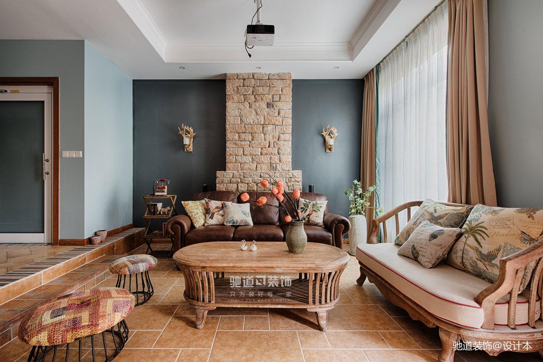 法式风别墅客厅设计