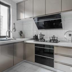 143㎡现代风格厨房设计图