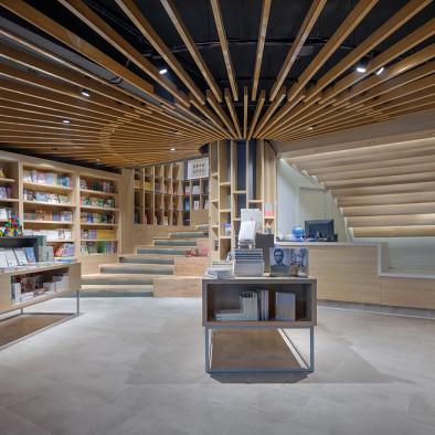 优加豪斯 | 智源书店吊顶设计图片
