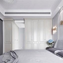 现代轻奢卧室衣柜设计图