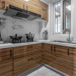 平淡簡約廚房圖片