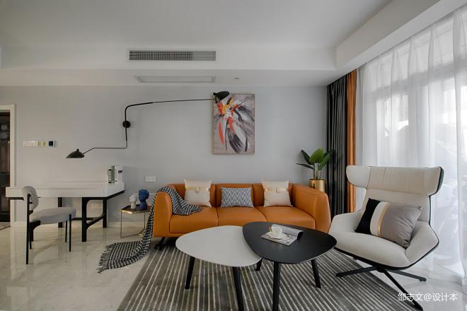 简洁现代客厅沙发图
