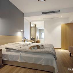日式三居主卧室设计图